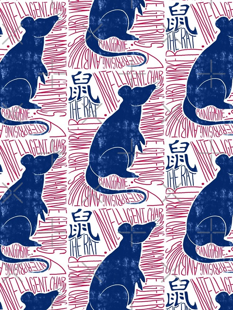 The Rat Chinese Zodiac Sign by Ranggasme