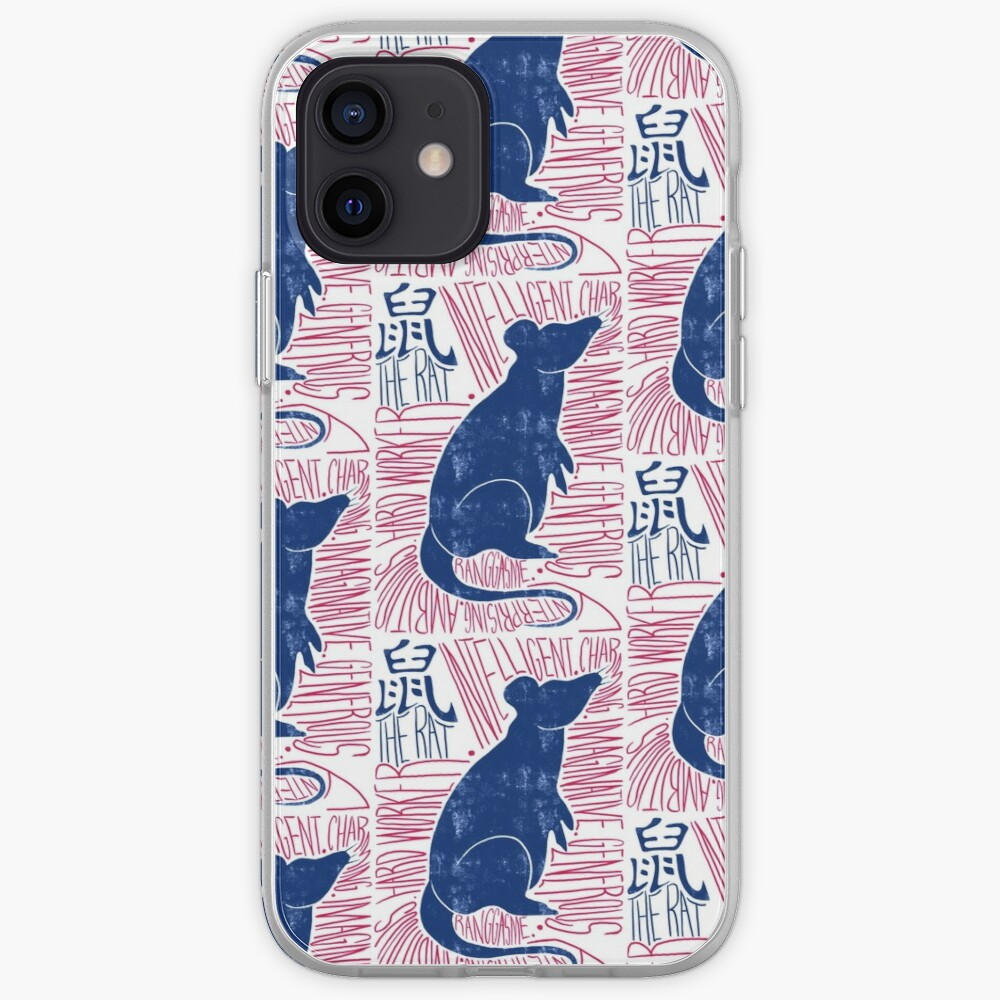 The Rat Chinese Zodiac Sign iPhone Case & Cover