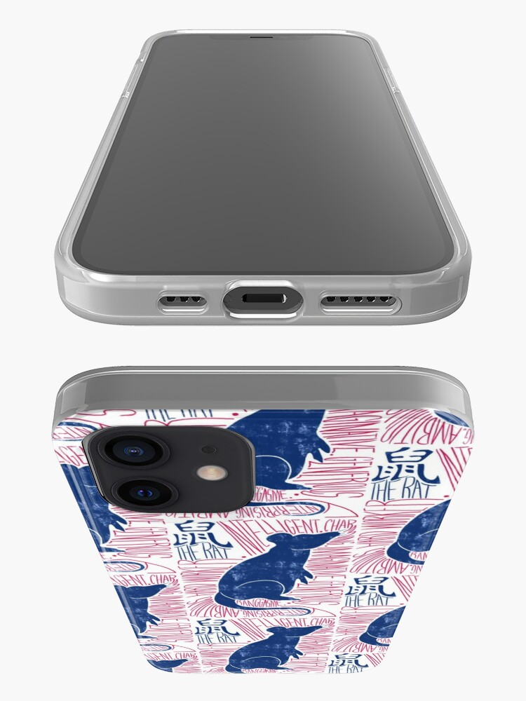 Alternate view of The Rat Chinese Zodiac Sign iPhone Case & Cover