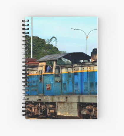 The Sri Lankan Express Spiral Notebook