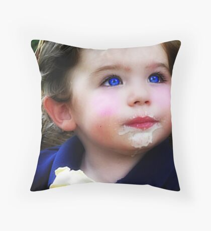 I Love Ice Cream! Throw Pillow