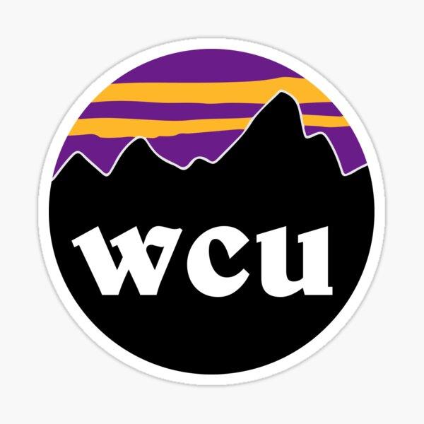 WCU Mountains Sticker