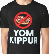 Yom Kippur No Pizza Giift Graphic T-Shirt