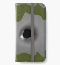 fake bullet hole iPhone Wallet/Case/Skin