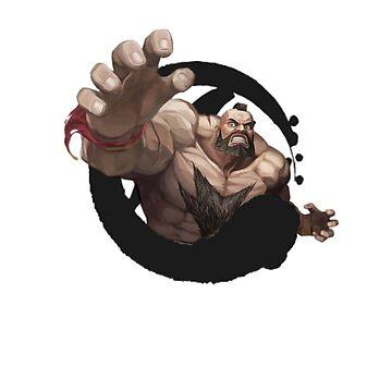 Zangief Street Fighter by VictorR9