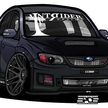 Subaru WRX STI (@teedddyyy) by SprayPatrick