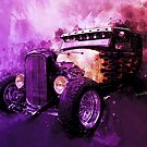 31 Ford Model A Fiery Hot Rod Classic Legend by ChasSinklier