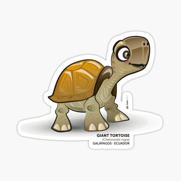 Galapagos Giant Tortoise Sticker