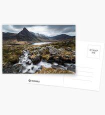 Overlooking Tryfan, Ogwen Valley, Snowdonia Postcards