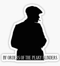 Shadow Tommy Shelby Sticker