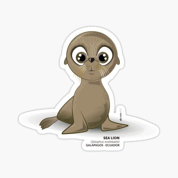 Galapagos Sea Lion  Sticker