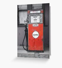Caltex Greeting Card