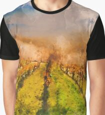 Hills of Tuscany  Graphic T-Shirt