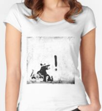 Rocking it old school Women's Fitted Scoop T-Shirt