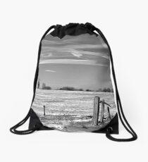 In Deep Midwinter Drawstring Bag