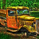 old truck by Jeannie Peters