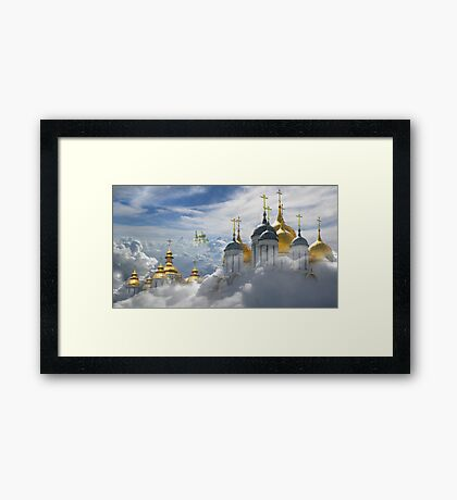 Heavenly Domes Framed Print
