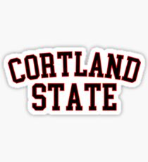 Cortland State Sticker