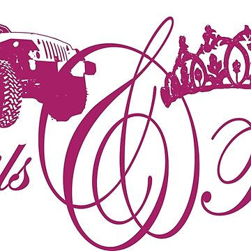 Trails & Tiaras by jeepstyletees