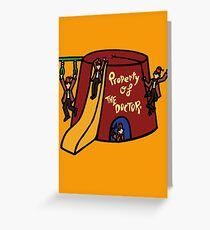 Property of The Doctor Greeting Card