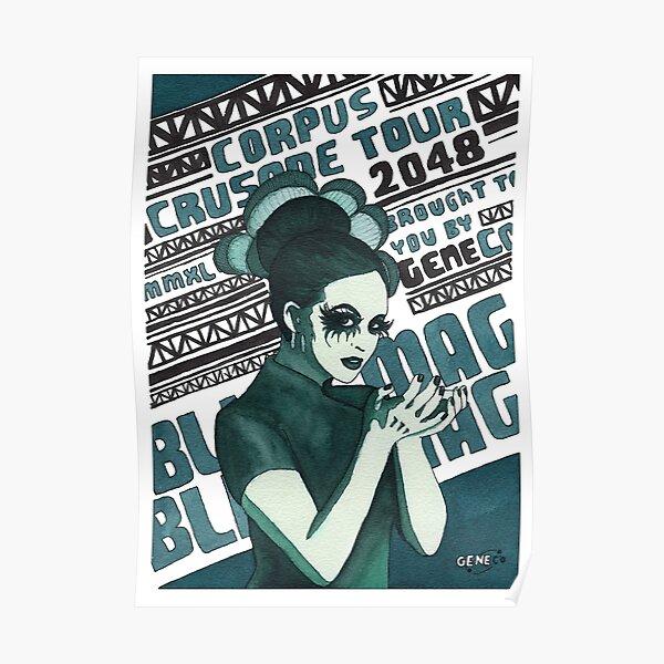 GeneCo Presents Blind Mag Poster