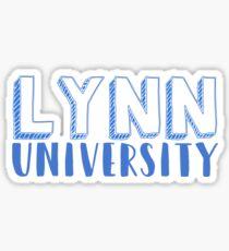 Lynn university Sticker