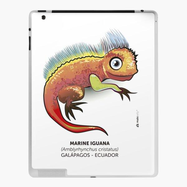 Galapagos Marine Iguana iPad Skin