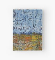 Crosshatched Marsh original painting Hardcover Journal