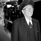 Steam train conductor by boudidesign