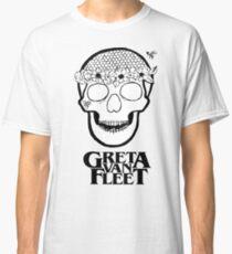 Greta Van Fleet - Flower Power skull  Classic T-Shirt