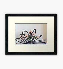 Ikebana-129 Framed Print