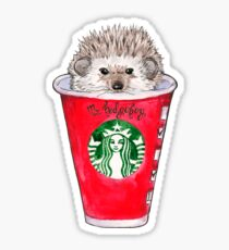 Mr. Hedgehog Sticker