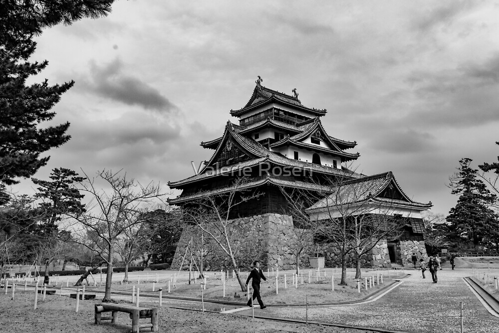 Timeless Matsue Castle  by Valerie Rosen