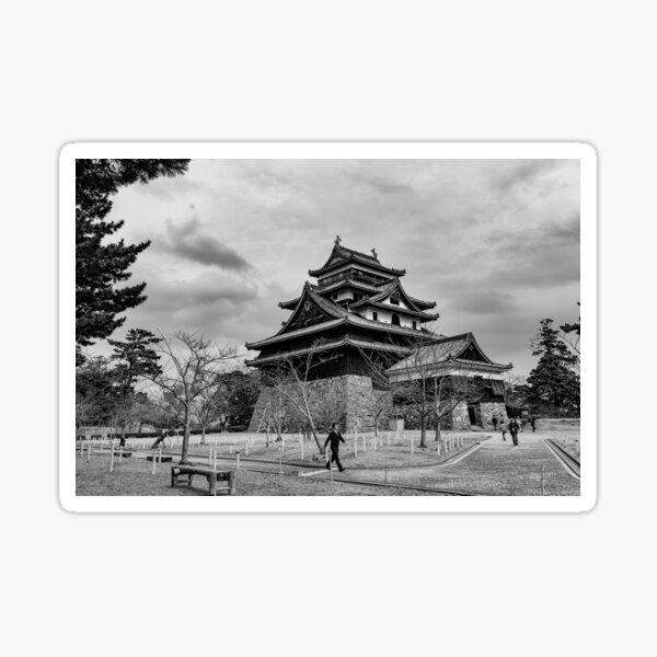 Timeless Matsue Castle  Sticker