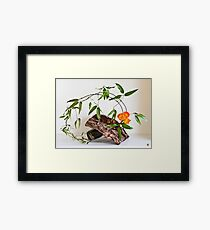 Ikebana-120 Framed Print