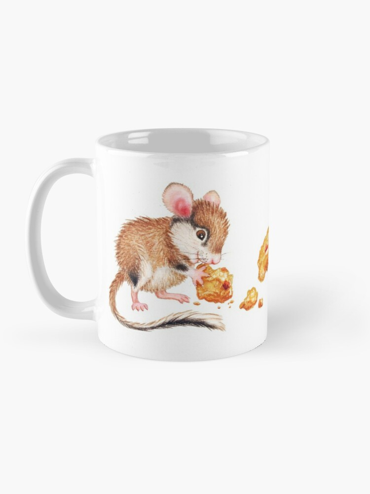 Alternate view of Cookie mouse by Maria Tiqwah Mug
