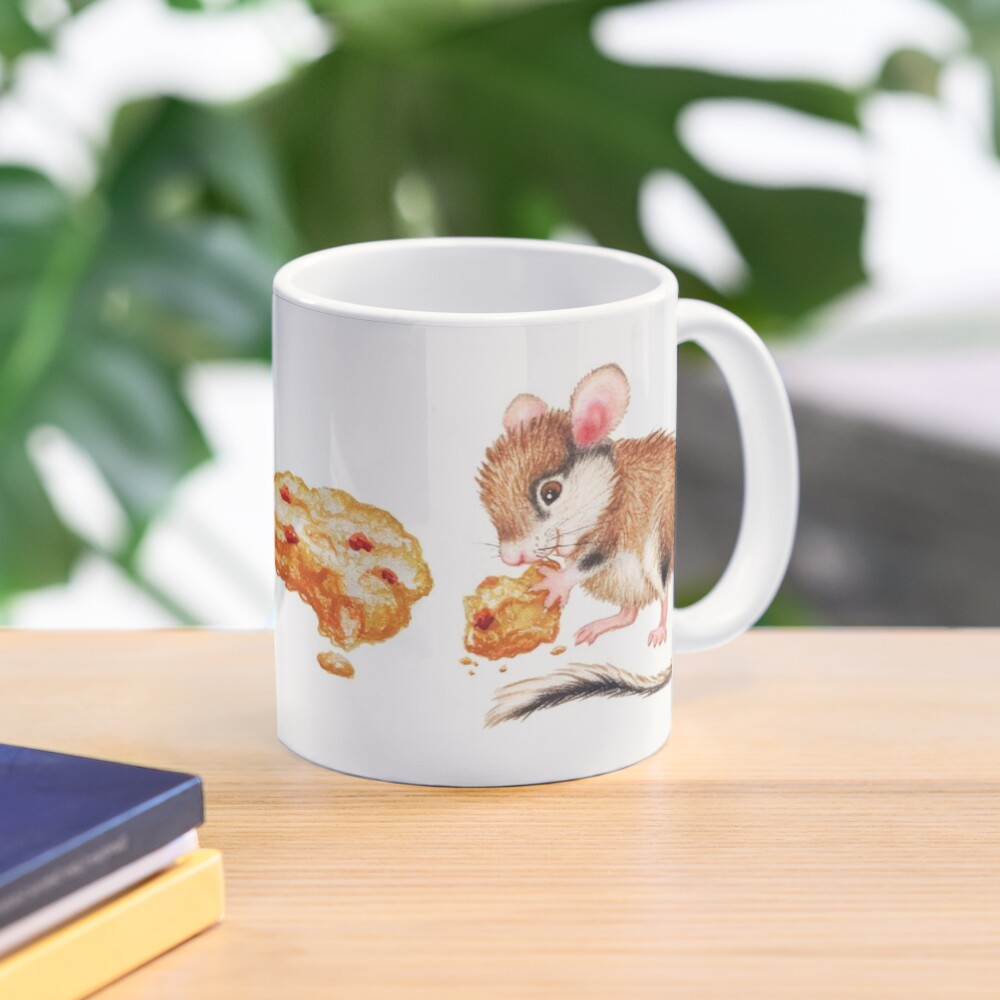 Cookie mouse by Maria Tiqwah Mug