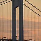 #bridge, #architecture, #water, #city, #usa, #california, #WerrazanoNarrowsBridge, #suspension, #river, #sky, #bay, #landmark by znamenski