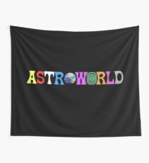 Astroworld logo Wall Tapestry