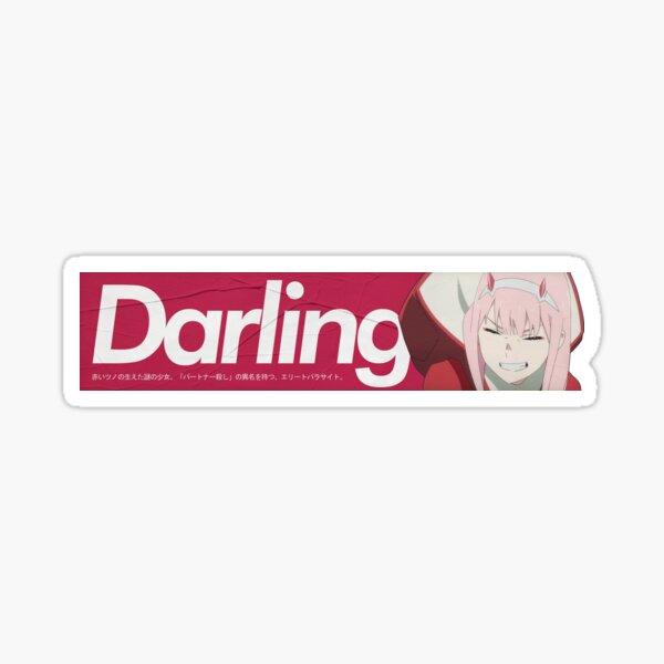 Zero Two - Supreme Darling Sticker