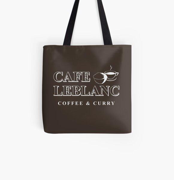 Cafe Leblanc All Over Print Tote Bag