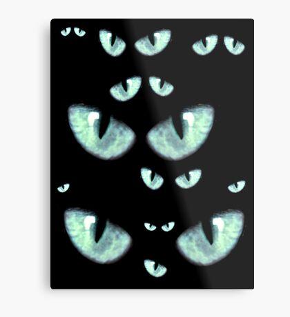 I Got My Blue Eyes On You Metal Print