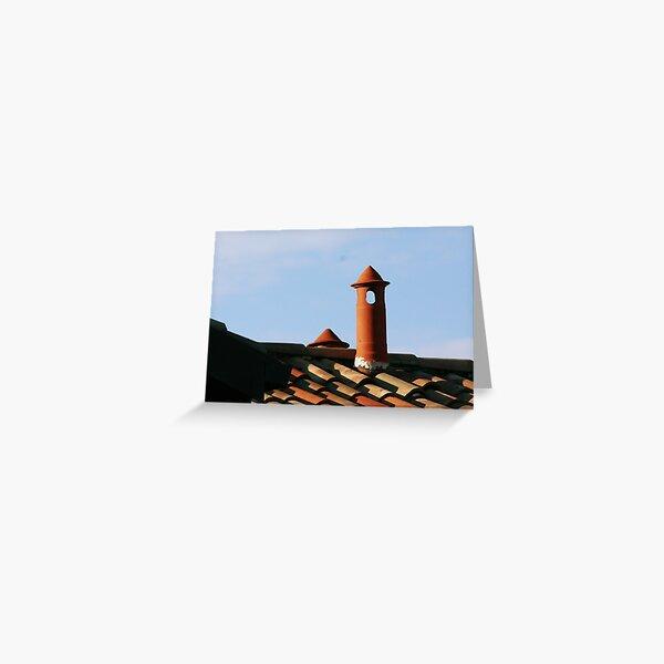 Italian Chim-chimney Italiano Greeting Card