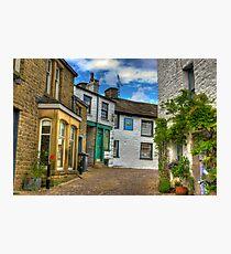 Dent Village Street Photographic Print