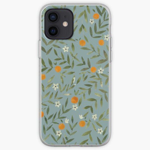 Orange Foliage iPhone Soft Case