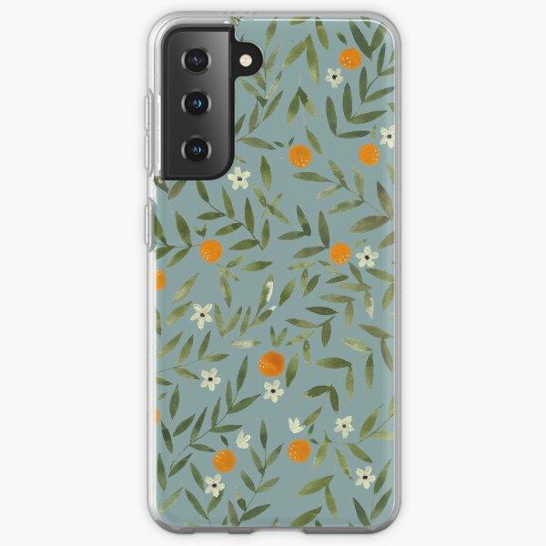 Orange Foliage Samsung Galaxy Soft Case