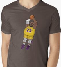 LeBrownie - icon jersey Men's V-Neck T-Shirt