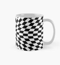 #black, #white, #chess, #checkered, #pattern, #abstract, #flag, #board Mug