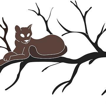 Sleeping Cat by FaithApparrel