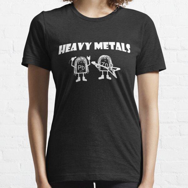 Heavy metals, heavy metals rock, chemist periodic table Essential T-Shirt
